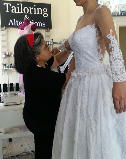 Wedding Gowns  Alteration