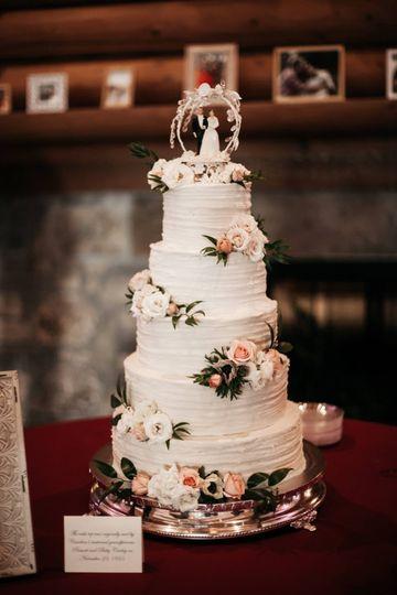 sweet devotion cakery wedding cake tulsa ok weddingwire. Black Bedroom Furniture Sets. Home Design Ideas