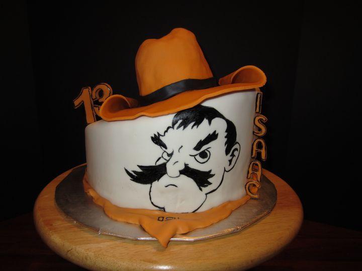 Tmx 1491926604928 Img0499 Tulsa, Oklahoma wedding cake
