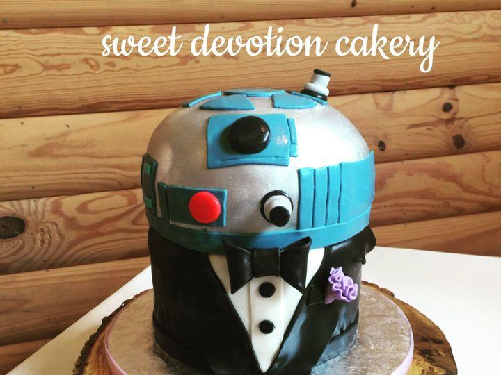 Tmx 1505939550809 Img4452 Tulsa, Oklahoma wedding cake