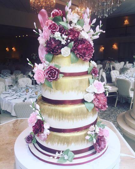 star wars cake floral side 2016