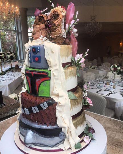 star wars cake side view 2016