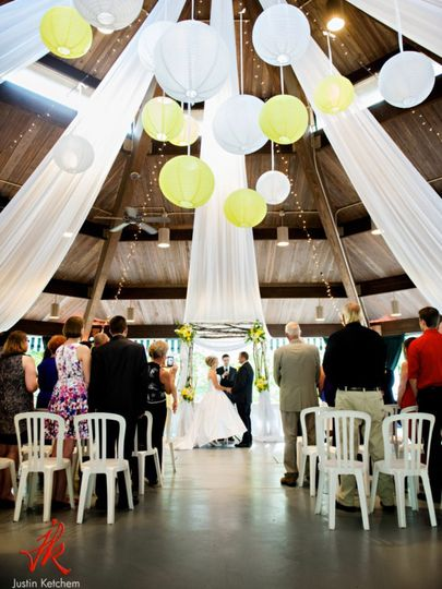 Wedding in out Gazebo