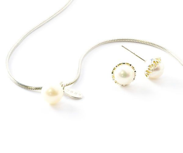 Tmx 1404932081574 Pearl Date Necklace And Pearl Earrings Buffalo wedding favor