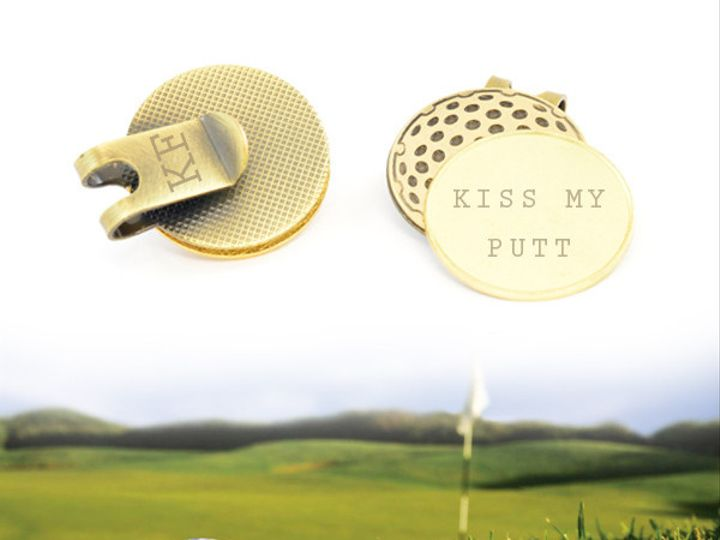 Tmx 1424808813916 Classic Hat Clip Golf Ball Marker 25mm Gold Plated Buffalo wedding favor