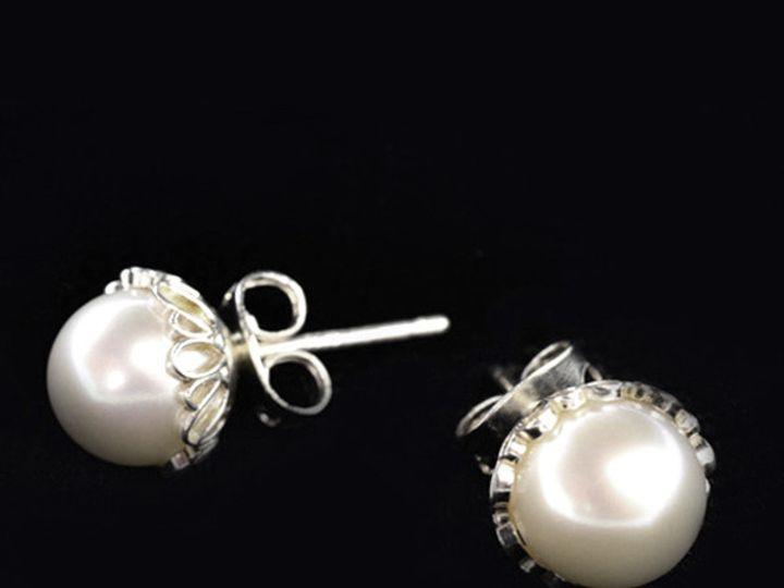 Tmx 1424808821403 Decorative Studs Freshwater Pearls 7mm Sterling Si Buffalo wedding favor