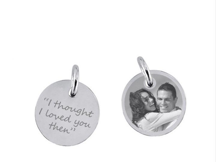 Tmx 1424808859819 Round Charm 20mm Sterling Silver 253540 Q2 Buffalo wedding favor