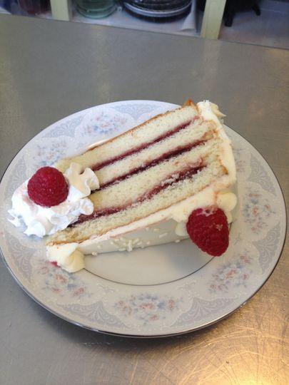 Raspberry Charm Cake