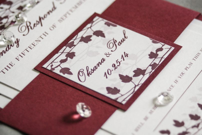 invitation design by melissa wedding invitations illinois chicago