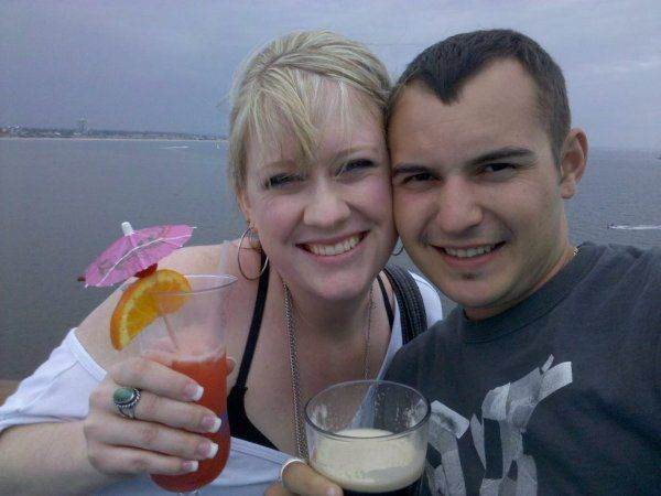 On our Honeymoon !!  thanks DJ One Productions......