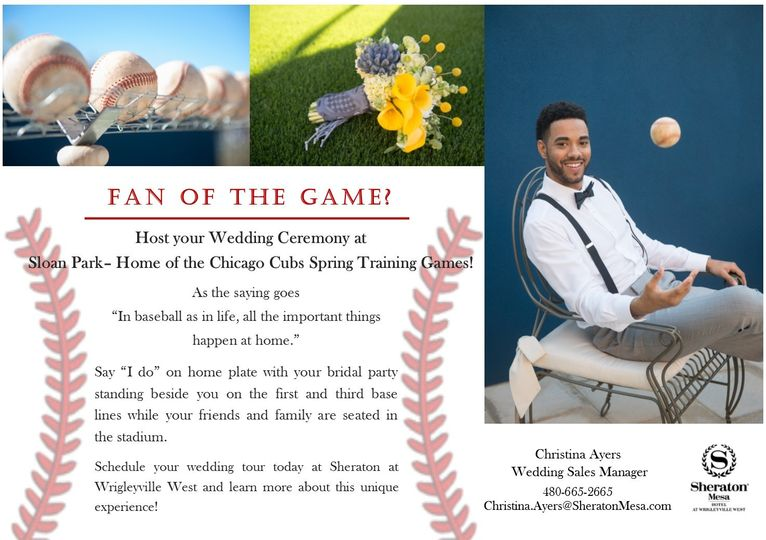cubs ceremony promo flyer