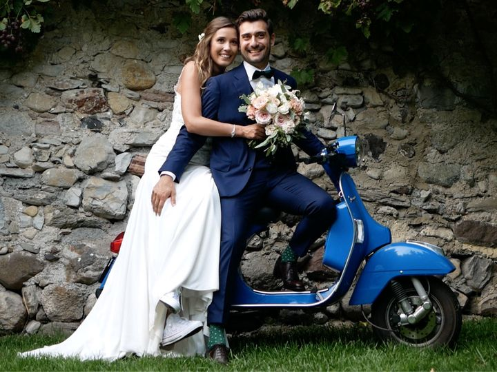 Tmx 1535574476 3aab1821c7f403bd 1535574475 Db8e820a29d964f9 1535574474586 1 WeddingVideo Vespa Milan, IT wedding videography