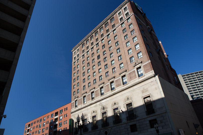 Courtyard boston downtown