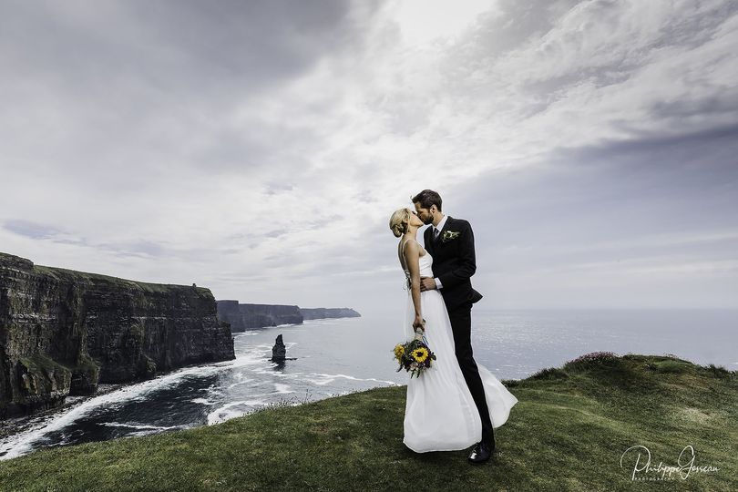 Kissing at the Cliffs of Moher