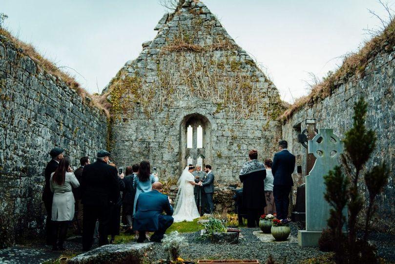 Church Ruins Elopement