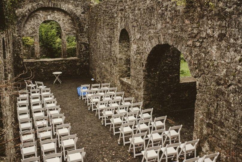 Ancient Ruins Wedding