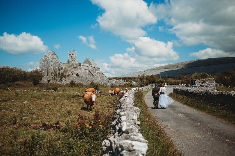 Ancient Ruin in Ireland