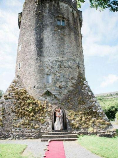 Irish Castle Elopement Wedding
