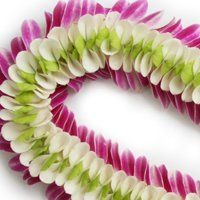We design custom leis and floral accessories. Call us today to inquire!