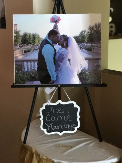 Sample of photo decor