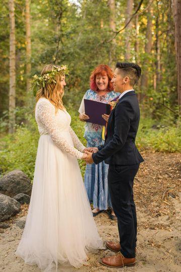 LGBTQ Idyllwild elopement
