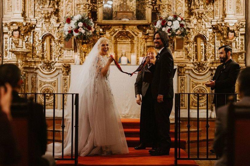 Stunning wedding Mission Inn