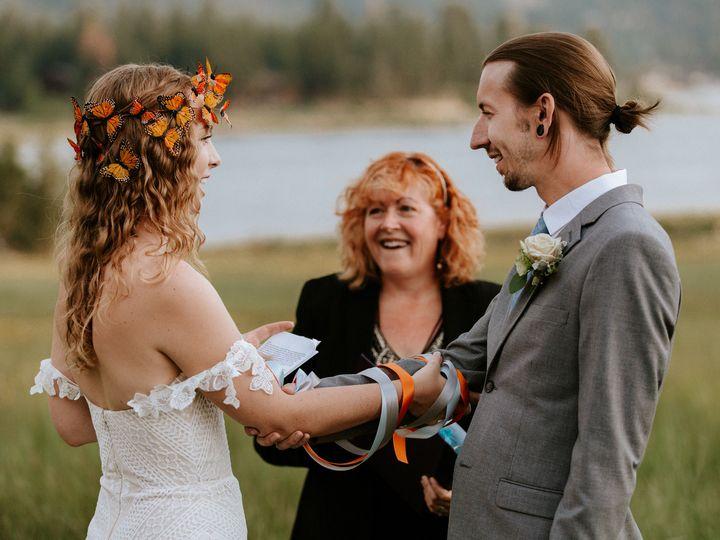 Tmx 1530389464 Ff85f7db12c506cf 1501718486528 Handfastinghaley Redlands, CA wedding officiant