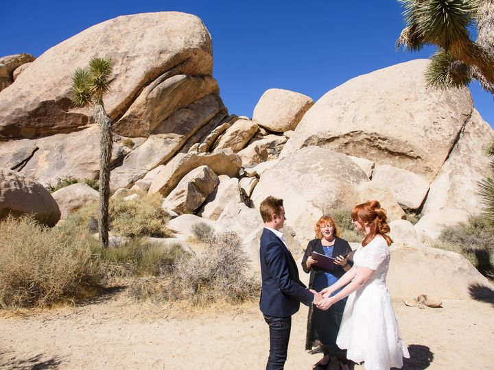 Tmx Joshua Tree Destination Wedding 51 948596 161107640818561 Redlands, CA wedding officiant