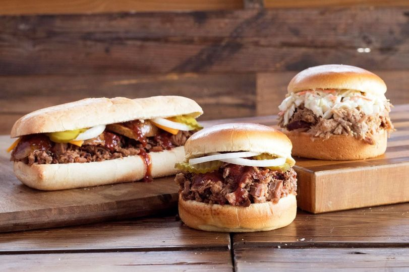 Meaty burgers