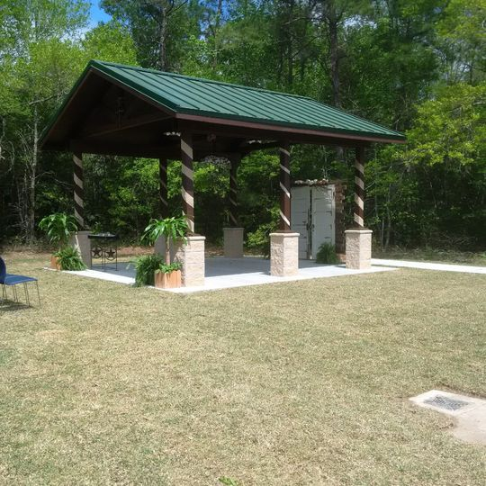 New Pavilion for outdoor weddings.