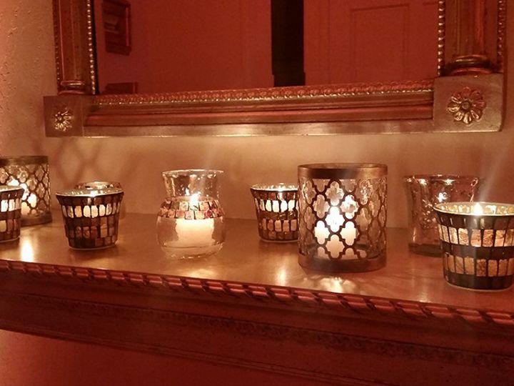 Tmx 1498854531367 Mantel Decor Votive Candles Mill Valley, California wedding eventproduction