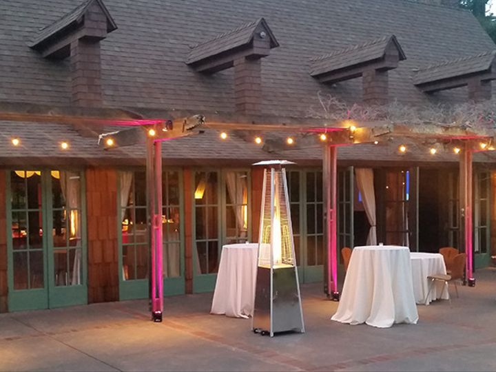 Tmx 1498854769550 Patio Heaters And Up Lighting At Outdoor Art Club Mill Valley, California wedding eventproduction