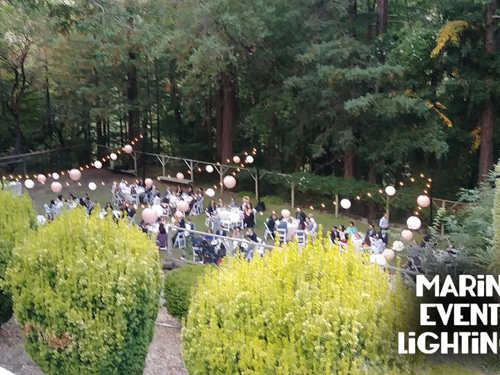 Tmx 1503939725080 Lighting And Lanterns At Ralston White Retreat Mill Valley, California wedding eventproduction