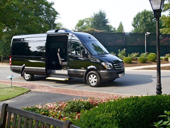 Tmx 1458584183606 Mercedes Sprinter Richmond wedding transportation