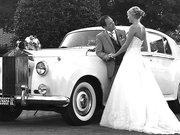 Tmx 1458584574231 Rolls With Couple Richmond wedding transportation