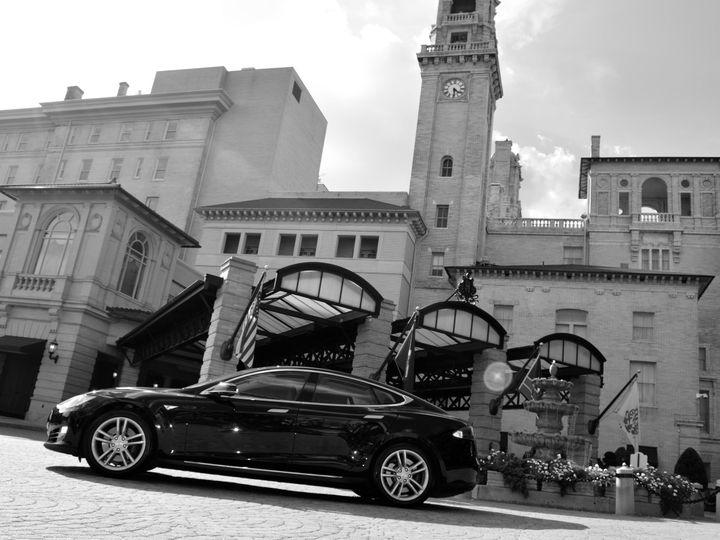 Tmx 1458584675581 Tesla Arrives In Richmond Va Luxurytransportation  Richmond wedding transportation