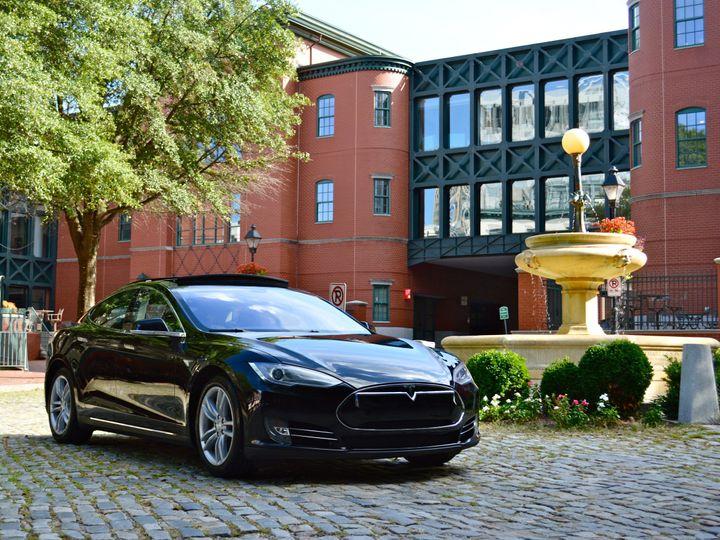 Tmx 1458584744577 Tesla Arrives In Richmond Va Luxurytransportation  Richmond wedding transportation