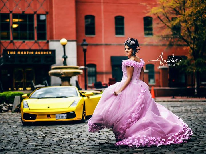 Tmx Quinceanera Rva Lamborghini Photo Shoot First Class Limo Alondra Photography Makovers By Liza Angys Boutique Xtravaganza Salon Richmond Va Sweet 16 51 520696 Richmond wedding transportation