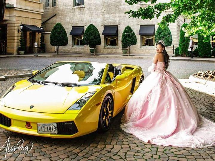 Tmx Quinceanera Rva Lamborghini Photo Shoot First Class Limo Alondra Photography Richmond Va 51 520696 Richmond wedding transportation