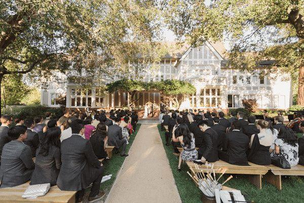 backyard rustic wedding ideas1