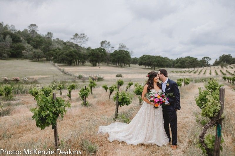 Photos in the vineyard!