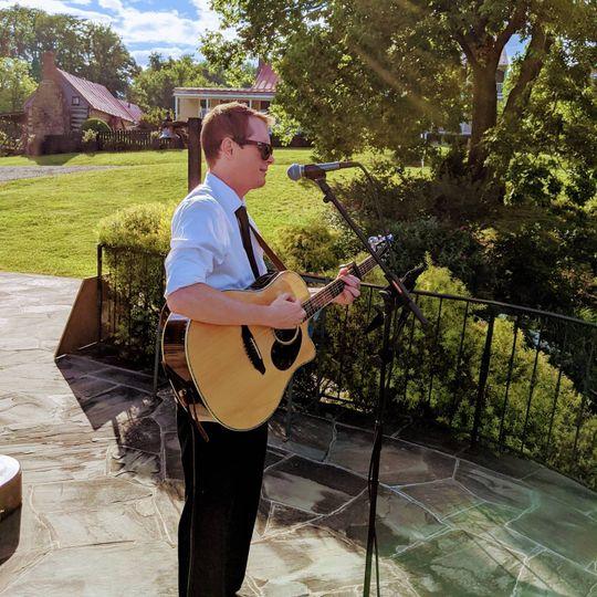 Acoustic Guitarist Ceremony