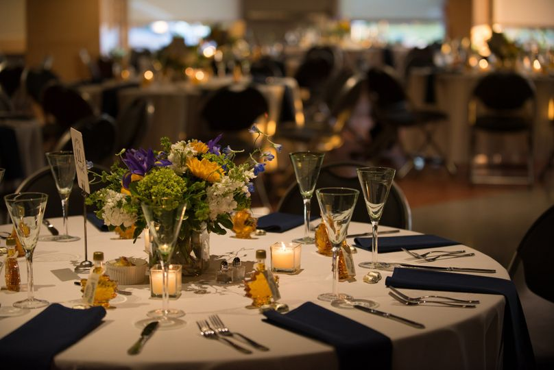 Reception table | Barrie Fisher Photographers