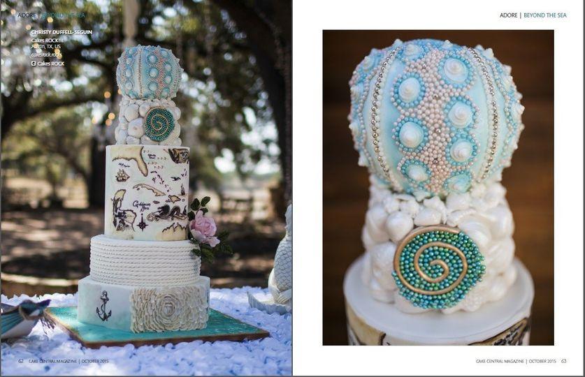 Cakes ROCK Wedding Cake Austin TX WeddingWire
