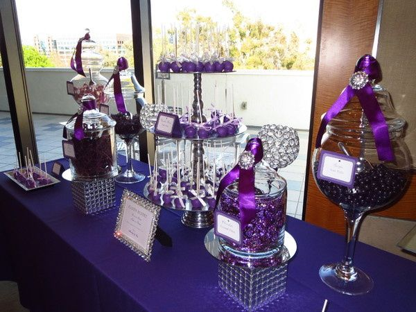 Tmx 1444402226453 600x6001366776241225 Purple  Silver Candy Buffet Bronx wedding rental