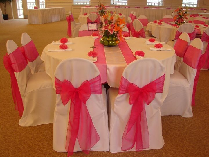 Tmx 1444402974981 Hot Pink Runner Silver Bronx wedding rental
