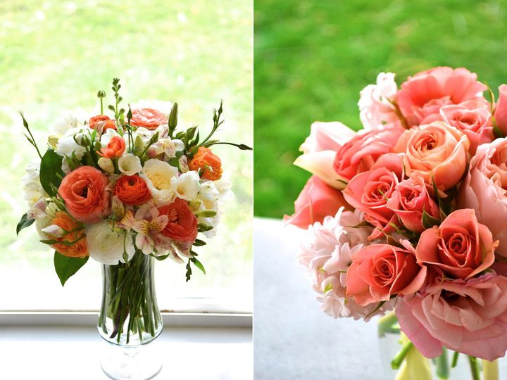 Tmx 1444403434437 Coral Arrangements.002 Bronx wedding rental