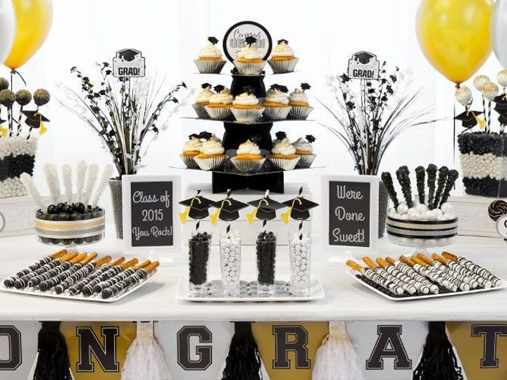 Tmx 1444404832307 Black And Gold Party Decorations Bronx wedding rental
