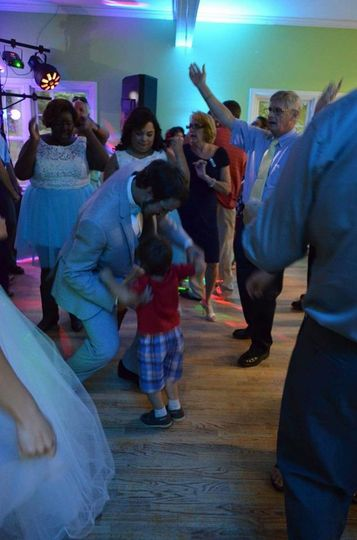 Dancing with the kid