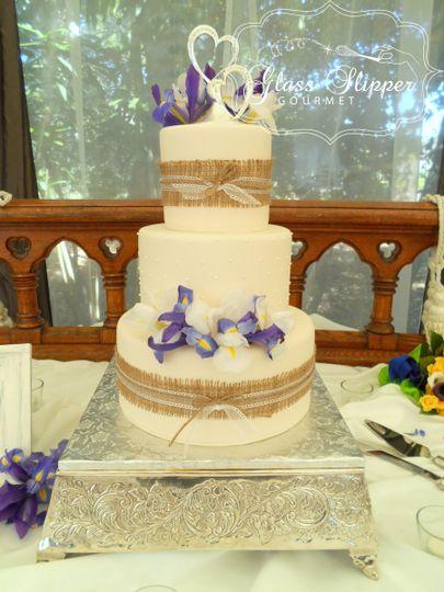 Glass Slipper Gourmet - Wedding Cake - Martinez, CA - WeddingWire